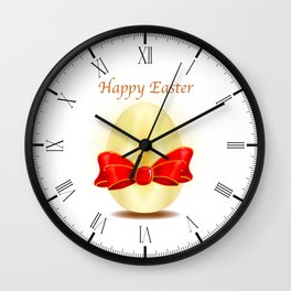 The Golden Egg Wall Clock