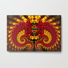 Dragon Flower Metal Print