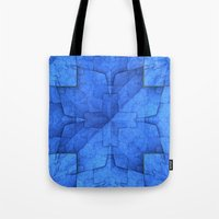 origami Tote Bags featuring Origami by Lyle Hatch