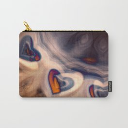 Hearts in smoke. Carry-All Pouch