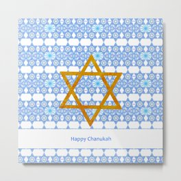 Happy Chanukah! Metal Print