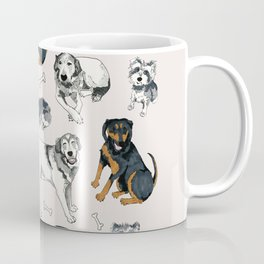 Sweetie, Lumi, and Saunders Coffee Mug