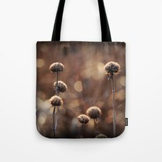 Copper Field Evening Tote Bag