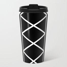 Synced Idling I - Black/White Travel Mug