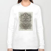 chakra Long Sleeve T-shirts featuring Second Chakra by Work the Angle