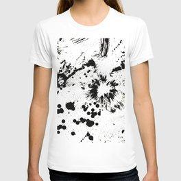 MONOCHROME SPLATTER T-shirt