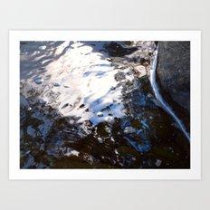 Textures - Water Art Print