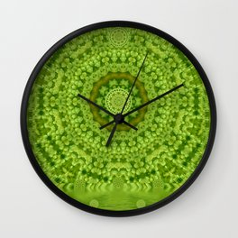 Love for the wild lilies if it is winter Wall Clock