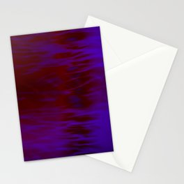 Red and Blue Abstract Stationery Cards