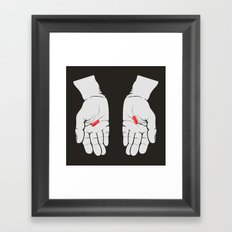 Red Pill, Red Pill Framed Art Print