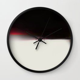 LONG TIME TO TOMORROW - #5 QUIET Wall Clock