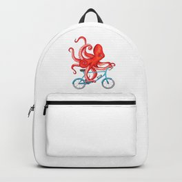 Cycling octopus Backpack
