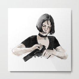 Mathilda Metal Print