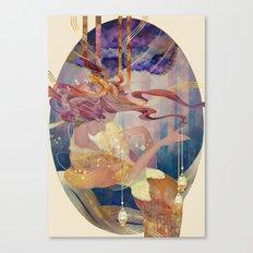 seri seri Canvas Print