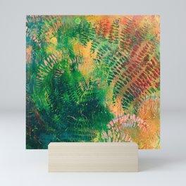 Ferns in color Mini Art Print