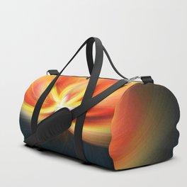Fire Flower Duffle Bag