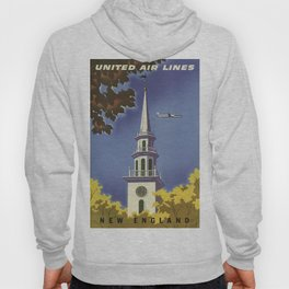 Vintage poster - New England Hoody