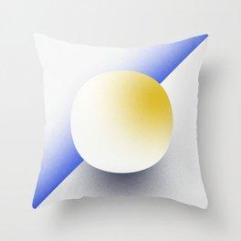 Shape Studies: Circle IV Throw Pillow