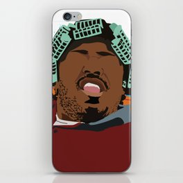Big Worm - Friday Movie Classic Movie Poster - 90's Art, Hip Hop Poster, Home Decor iPhone Skin