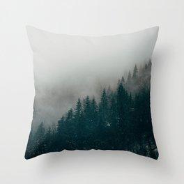 The Mist Throw Pillow