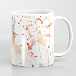 "Watercolor Painting of Picture ""Robins"" Coffee Mug"
