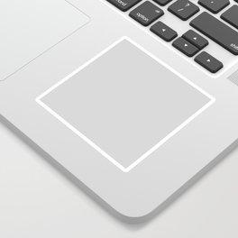 Light grey plain color Sticker