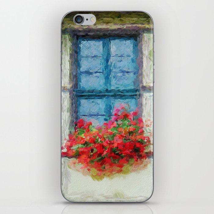 Windows painted iPhone Skin