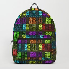 Tikis in a Rainbow of Colors! Backpack