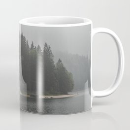 Foggy mornings at the lake II - landscape photography Coffee Mug