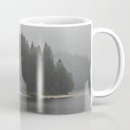 Foggy mornings at the lake II - landscape photography Coffee Mug