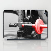 sewing iPad Cases featuring Sewing Machine by Four Hands Art