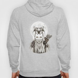 Fear Makes the Wolf... Hoody