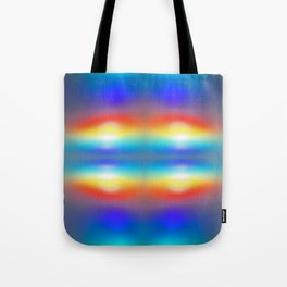 Abstract sunsets Tote Bag