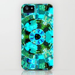 Delta Pulse iPhone Case