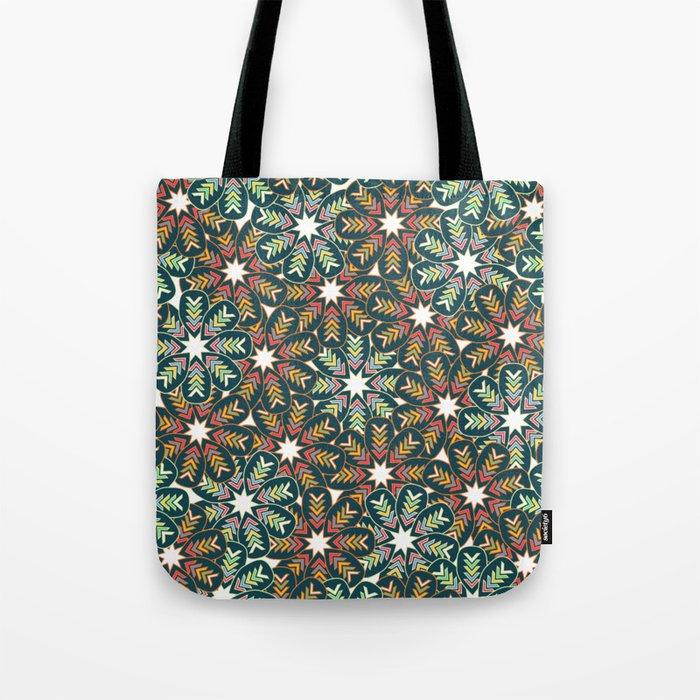 Floral wreath Tote Bag