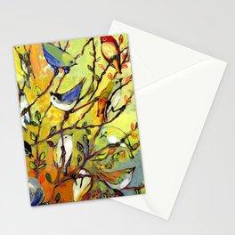 16 Birds Stationery Cards