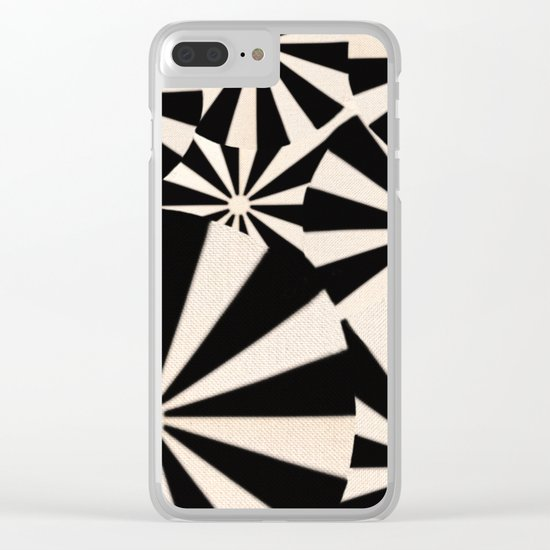 Crowded Beach Clear iPhone Case