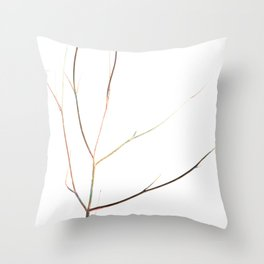 Branches of time Throw Pillow