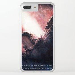 DevilJho of Monster Hunter Clear iPhone Case