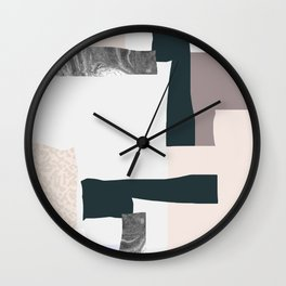On the wall #2 Wall Clock