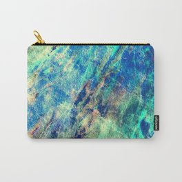 Under The Ice Winter Abstract Carry-All Pouch