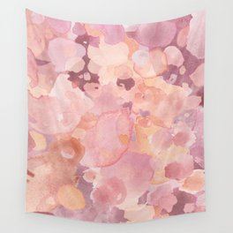 Rosy Tones Wall Tapestry