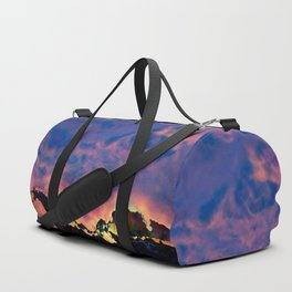 The World On Fire Duffle Bag