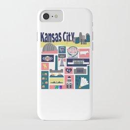 Kansas City iPhone Case