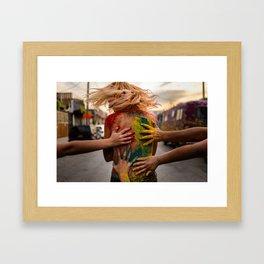 Festival of Colors Framed Art Print