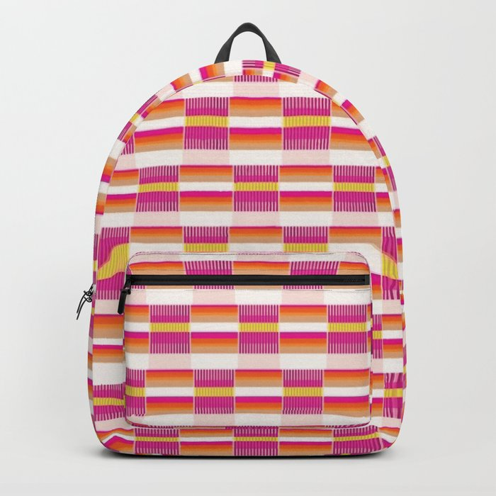 *STRIPE_PATTERN_1 Backpack