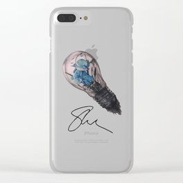 Lightbulb Mendes Clear iPhone Case