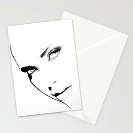 black-white Stationery Cards