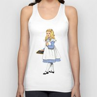 toddler Tank Tops featuring Alice by Tom Tierney Studios