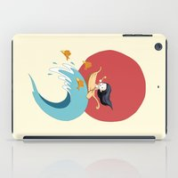 ponyo iPad Cases featuring The Wave by Freeminds